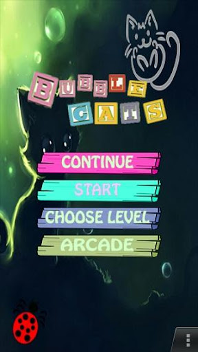 Bubble Cat Game