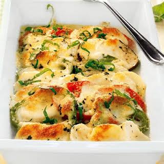 Vegetable And Potato Bake.