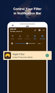 Night Filter – Blue Light Filter for Better Sleep Ekran Görüntüsü