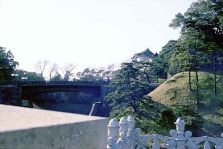 江戸城:皇居正門鉄橋 「二重橋」