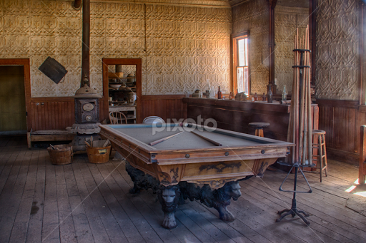 Billiard Table Other Interior Buildings Architecture Pixoto - Western pool table