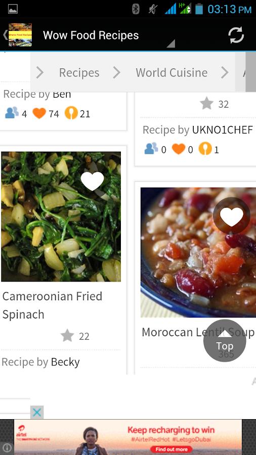 Ghana food recipes android apps on google play ghana food recipes screenshot forumfinder Choice Image