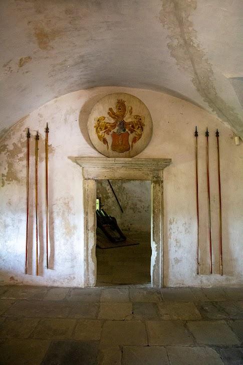 wnętrza Zamku Orawskiego