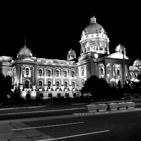 by Milos Krsmanovic - Black & White Buildings & Architecture
