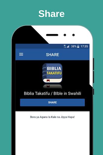 2020 Biblia Takatifu Bible In Swahili Android App Download Latest