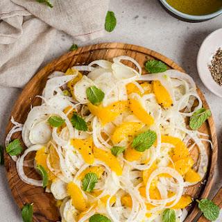 Fennel and Orange Salad.