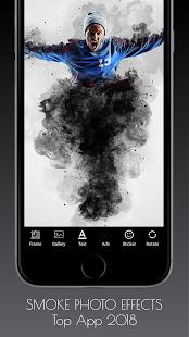 Smoke Effects Photo Editor - náhled