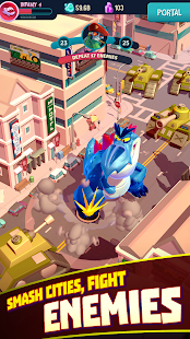 I Am Monster: Idle Destruction Screenshot