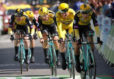 Throwback: Jumbo-Visma haalt uit in tweede etappe Tour de France 2019