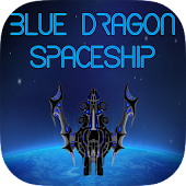 Blue Dragon Spaceship Shooting