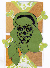 Photo: Wenchkin's Mail Art 366 - Day 170, card 170a