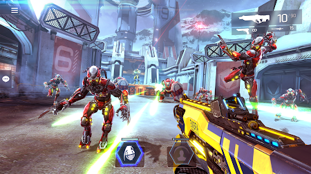 SHADOWGUN LEGENDS - FPS PvP Free Shooting Games APK screenshot thumbnail 7