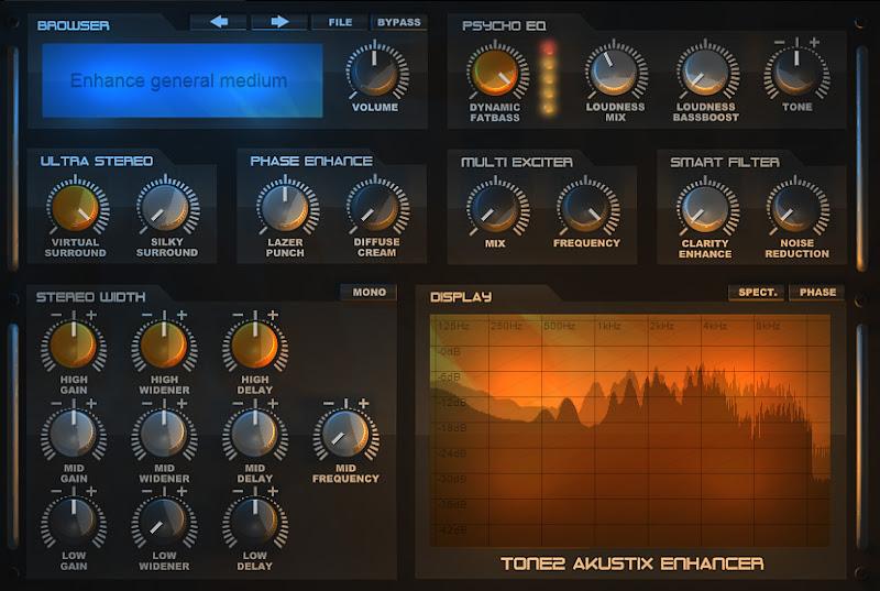 Photo: Akustix Enhance effect