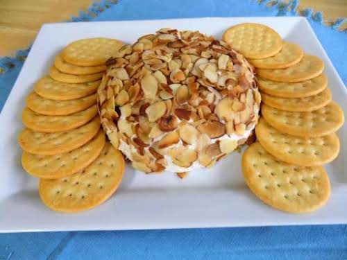 """Chicken Cheese Ball of Happiness """"Where has this been all my life?..."""