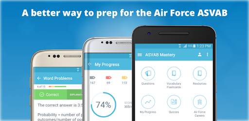 ★★★★★ Ace your ASVAB & join the Air Force. Review 970+ exam-like questions
