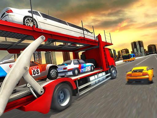 Vehicle Transporter Trailer Truck Game 1.4 screenshots 8