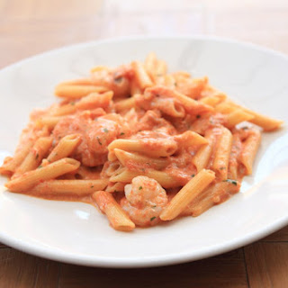 Spicy Tomato Cream Sauce.