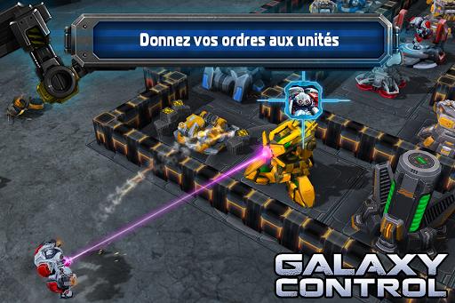 Galaxy Control: Stratégie 3D  captures d'écran 2