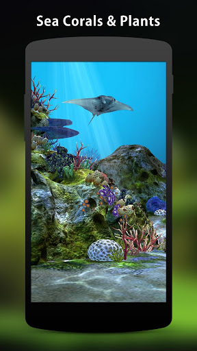 3D Aquarium Live Wallpaper HD 1.6.2 screenshots 2