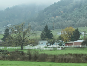 Photo: View from the road, Oregon.