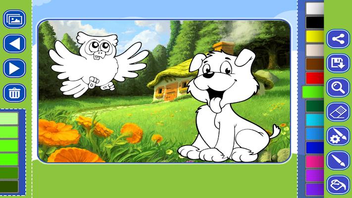 Cute Animal Painting - screenshot
