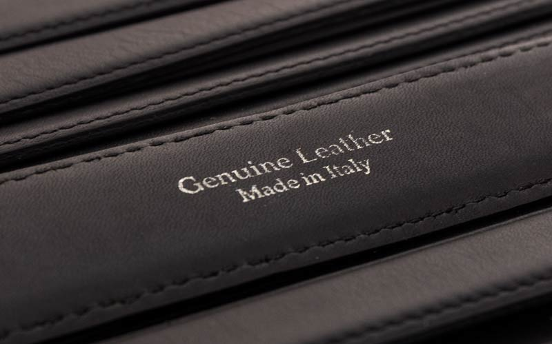 quality of genuine leather