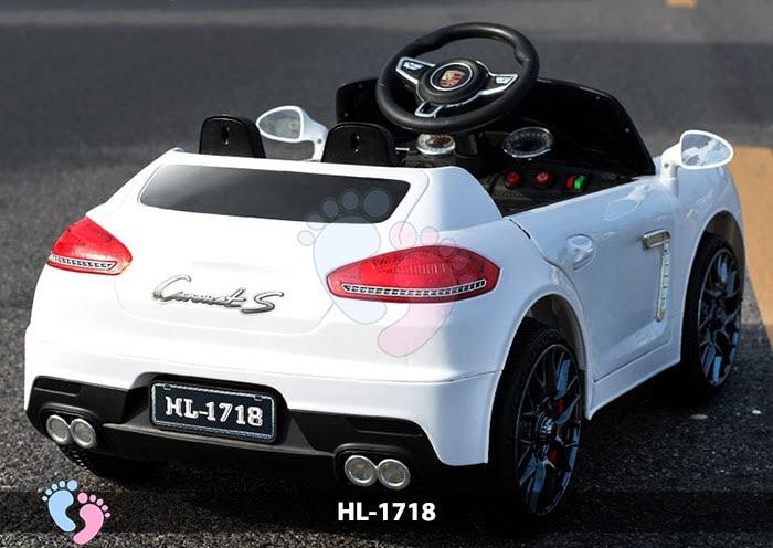 Xe hơi điện cho bé Porsche HL-1718 10