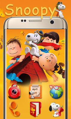 Snoopy GO Launcher Theme - screenshot