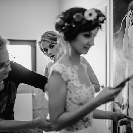 Wedding photographer Marzena Hans (marzenaha). Photo of 10.01.2018