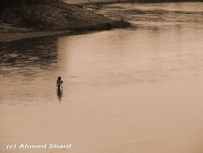 Photo: Fishiing in Karatoa river in Panchagarh