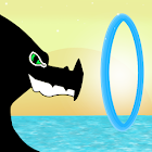 Flappy Dragon Rings icon