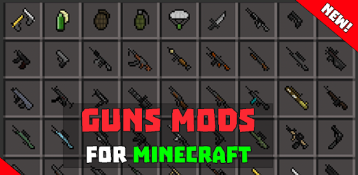 Guns mod for Minecraft 2017 for PC