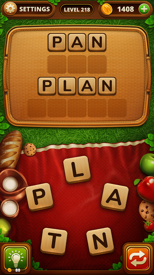 Piknik Slovo - Word Snack- screenshot