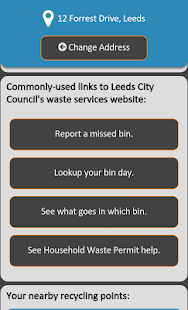 Leeds Bins- screenshot thumbnail