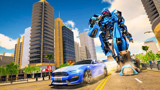 Ultimate Robot Car transforming game  captures d'u00e9cran 1