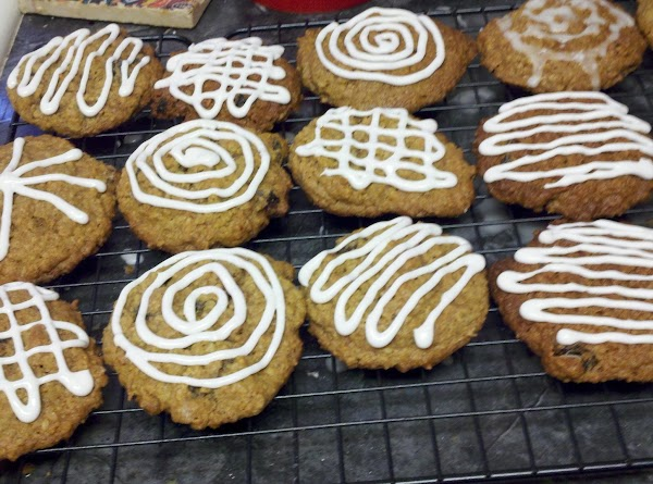 Iced with store-bought cookie icing
