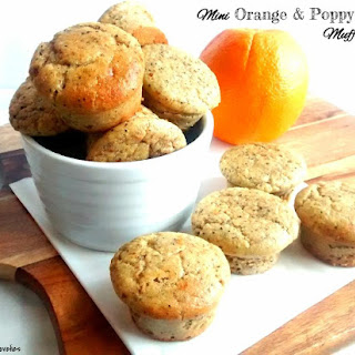 Mini Orange & Poppy Seed Muff-Cakes