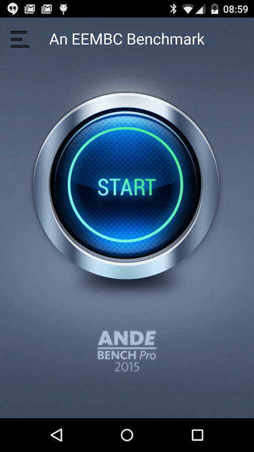 AndEBench-Pro 2015- screenshot
