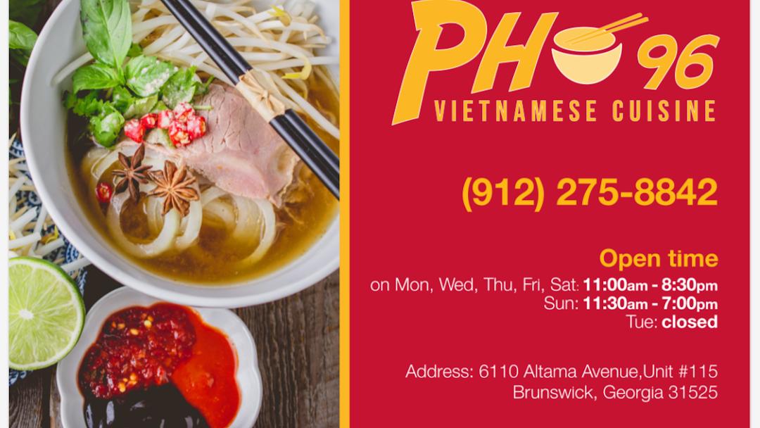 Pho 96 Vietnamese Cuisine Vietnamese Restaurant In Brunswick