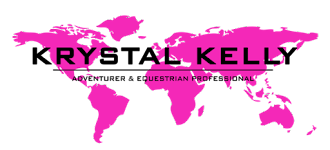 Krystal Kelly Logo Adventurer and Equestrian Professional