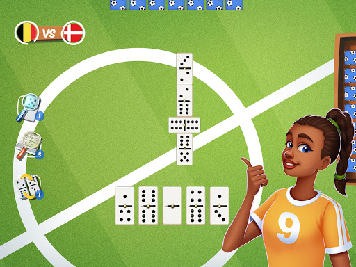 Dominoes Striker: Play Domino with a Soccer blend 2 screenshots 12