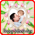 Fathers day frame icon