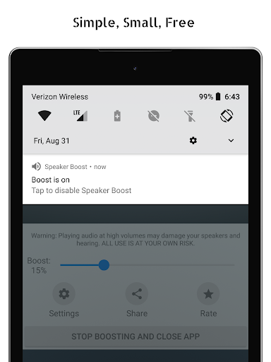 Speaker Boost: Volume Booster & Sound Amplifier 3D 3.0.29 Apk for Android 7