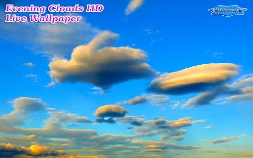 Evening Clouds Skyscape- screenshot thumbnail