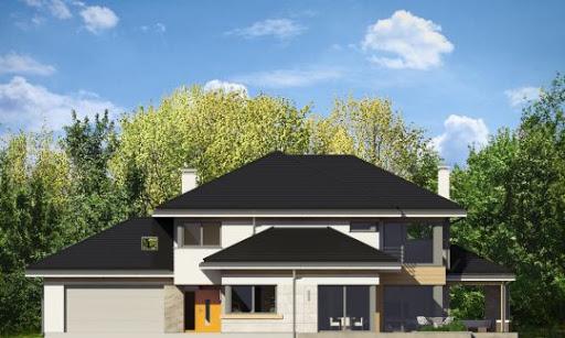 Dom z widokiem 2 - Elewacja przednia