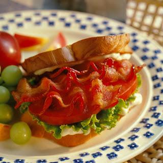 BLT Club Sandwiches.