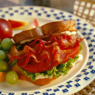 BLT Club Sandwiches.