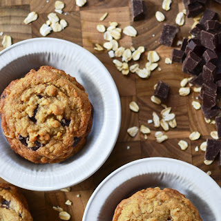 Brown Butter Oatmeal Chocolate Chunk Cookies