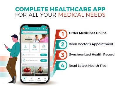 GoMedii – Medicines Delivery, Doctor's Appointment App Download For Android and iPhone 1