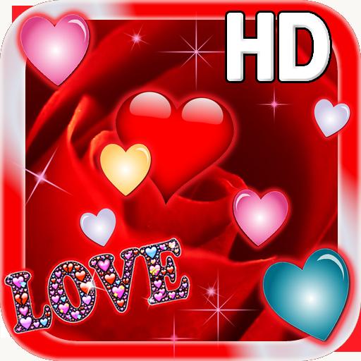 Rose Hearts LWP 個人化 App LOGO-APP試玩
